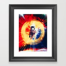 With Love From Space Framed Art Print