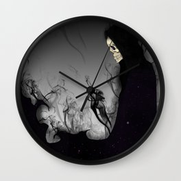 Death Galaxy Wall Clock