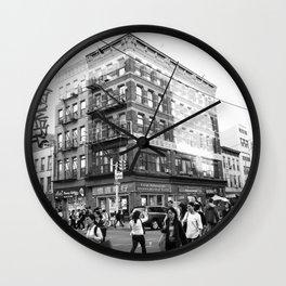 China Town (New York) Wall Clock