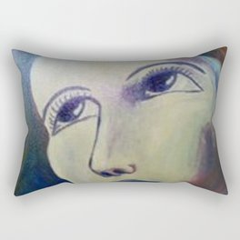 Someone told me there's a girl out there... Rectangular Pillow