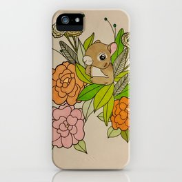Squirrels Just Want To Have Fun iPhone Case