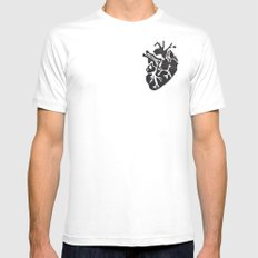 Only Love Mens Fitted Tee White MEDIUM