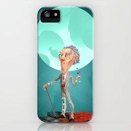 Professor Poshgit iPhone Case