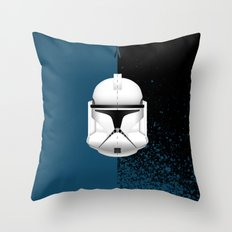 Clone Trooper Throw Pillow