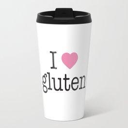 I Heart Gluten Travel Mug