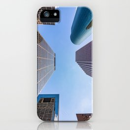 In a world of giants iPhone Case