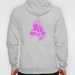 "Christmas Tree | ""Cubes"" | Hot Pink | [D7780~39_005] Hoody"