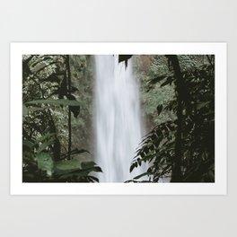Nungnung Waterfall Art Print