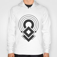 sacred geometry Hoodies featuring Sacred Geometry I by melonweed