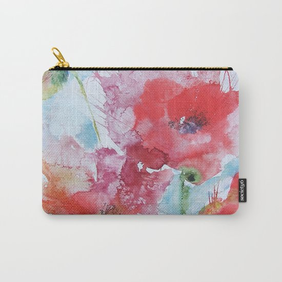 Poppies 04 Carry-All Pouch