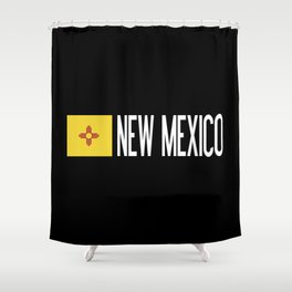 New Mexico: New Mexican Flag & New Mexico Shower Curtain