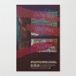 Parachute Journalists - Watch Her Decompose Canvas Print