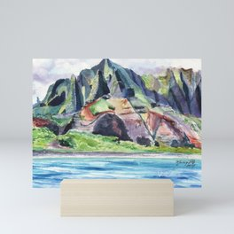 Majestic Na Pali Coast Mini Art Print