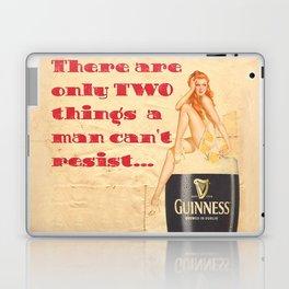 Guinness - Vintage Beer Laptop & iPad Skin