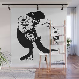 PORTRAIT OF AN AMERICAN FEMALE JAZZ SINGER Wall Mural