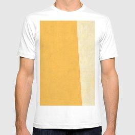 Yellow White T-shirt