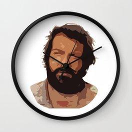 Bud Spencer CutOut Art Wall Clock