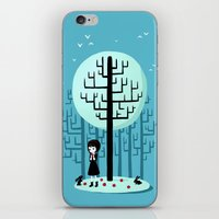 snow white iPhone & iPod Skins featuring Snow White by Freeminds