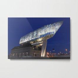 The Antwerp Port House | Zaha HADID architect Metal Print