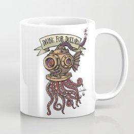 Octopus Diver Coffee Mug