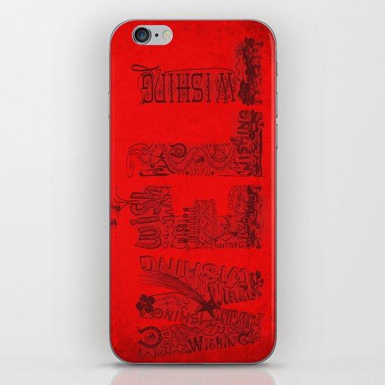Wishing Well  iPhone & iPod Skin