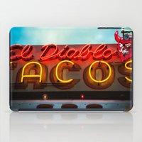 diablo iPad Cases featuring El Diablo by Phil Provencio