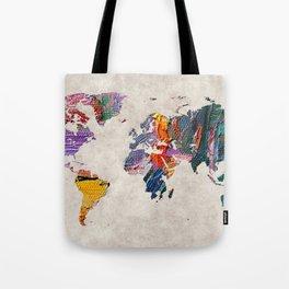 World Map 59 Tote Bag