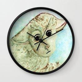 Just One Little Lamb Wall Clock