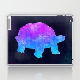 TORTOISE IN SPACE // Animal Graphic Art // Watercolor Canvas Painting // Modern Minimal Cute Laptop & iPad Skin