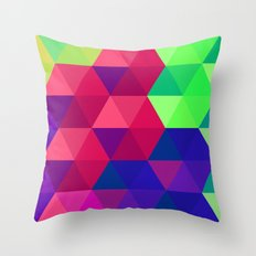 Hexagons 2 Throw Pillow
