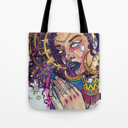 Ho*s Praying For Justice Tote Bag