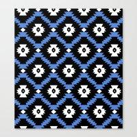 navajo Canvas Prints featuring Navajo by Emma Mazur