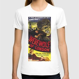 Werewolf of London, vintage horror movie poster, 2 T-shirt