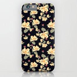 Summertime Black iPhone Case
