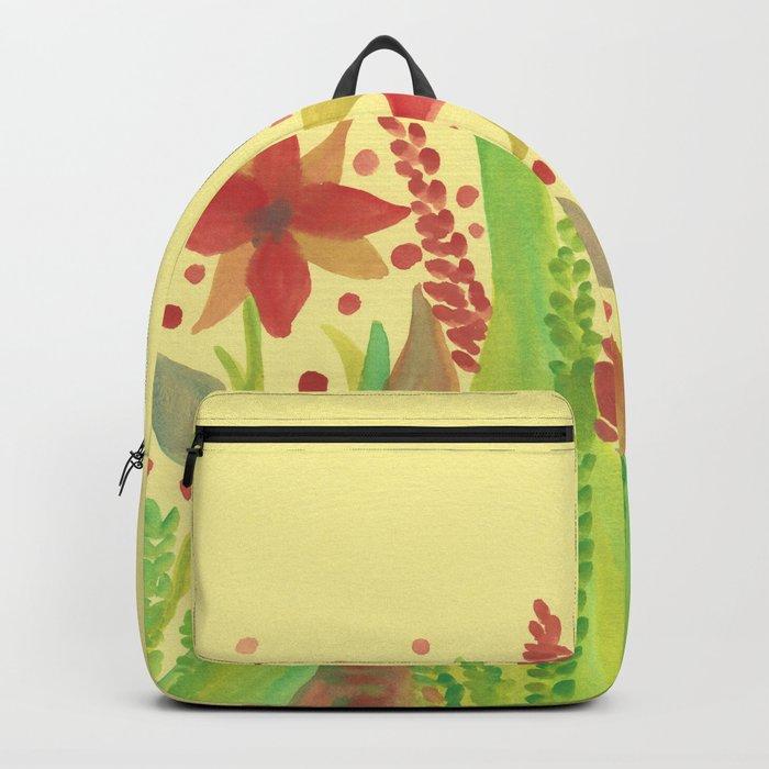 Botanical vibes 11 Backpack
