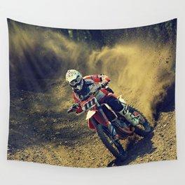 Bike Rider Wall Tapestry