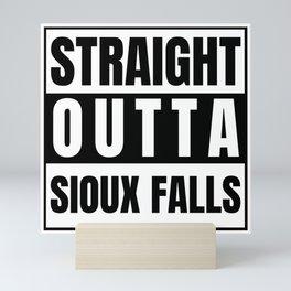 Straight Outta Sioux Falls Supernatural Singer Bobby Garage Mini Art Print
