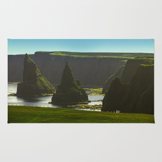 Sea Stacks at Duncansby Head Rug