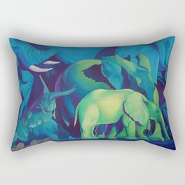 Blue Dreams Rectangular Pillow