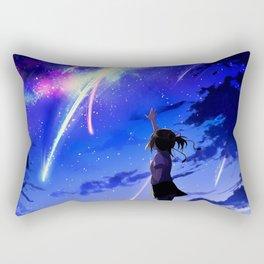 "Kimi No Na Wa ""Your Name"" v1 Rectangular Pillow"
