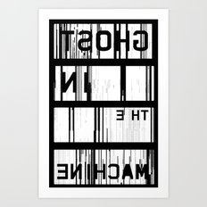 Ghost in the Machine (Inverted) Art Print