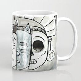 The Mask of Death and Rebirth Coffee Mug