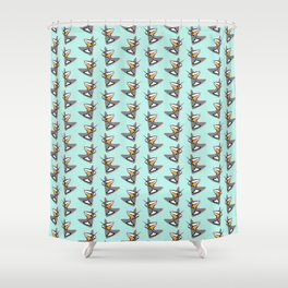RETRO COCKTAILS Shower Curtain