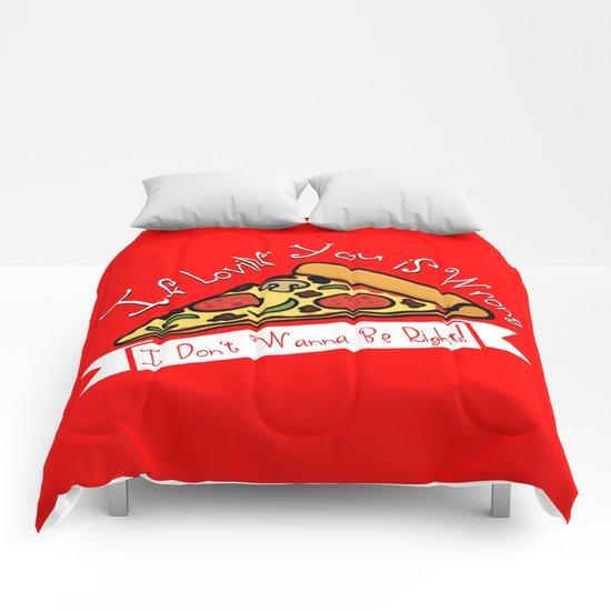 True Love  |  Pizza Comforters