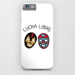 LUCHA LIBRE#21 iPhone Case