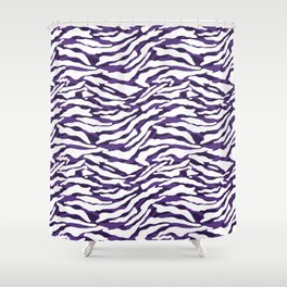Abstract Pattern V Shower Curtain