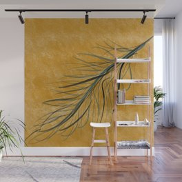 Fall feather Wall Mural