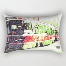 501 Street car Rectangular Pillow