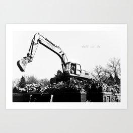 -Rebuild Art Print