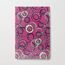 Honolulu hoopla pink Metal Print